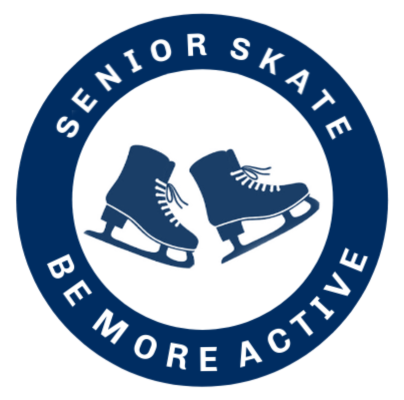 Senior Skate Be More Active Logo