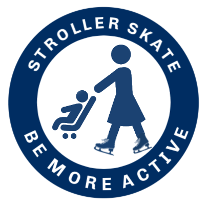 Stroller Skate Be More Active Logo