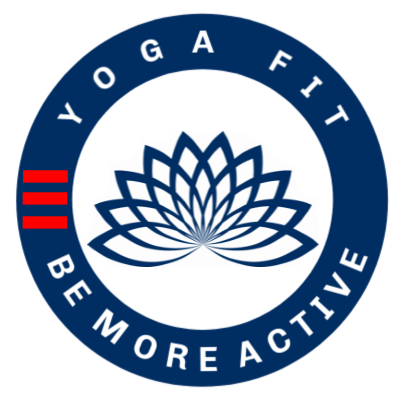 Yoga Fit Be more active logo