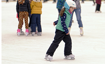 Picture of s girl skating